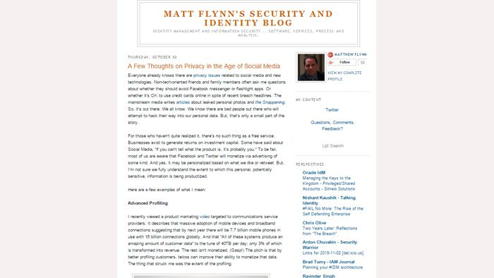 MATT FLYNN'S SECURITY AND IDENTITY
