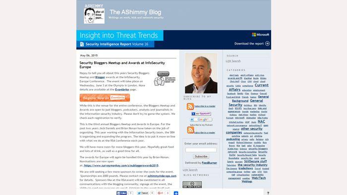 The AShimmy Blog