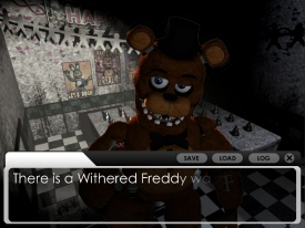 Five Night's at Freddie's visual novel