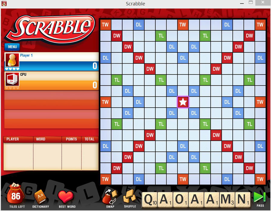 Scrabble plus free game