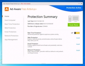 Ad Aware Free Antivirus+