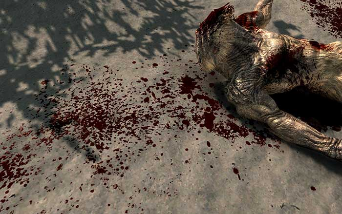 Skyrim enhanced blood mod