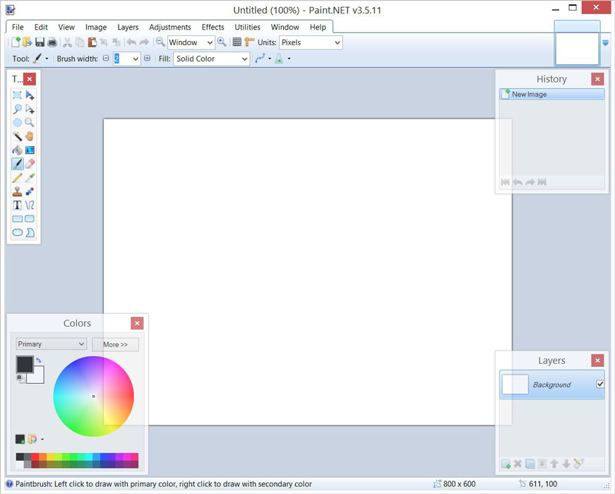 Download paint net 4 0 6 photo editors digital photo Paint software free download