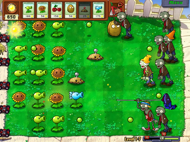 Plants vs Zombies Pictures  Rocky Bytes