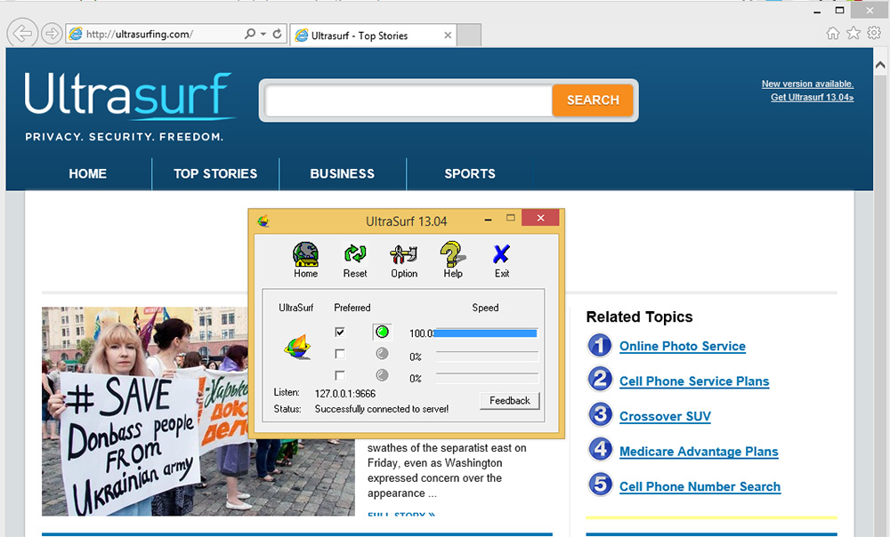 Ultrasurf Latest Version