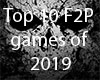 Top 10 F2P Games of 2019