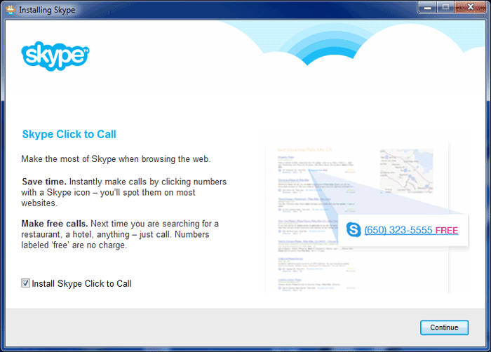 How to install Skype