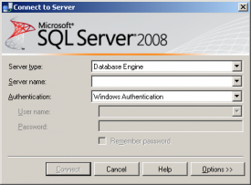 Microsoft SQL Server 2008 Management Studio
