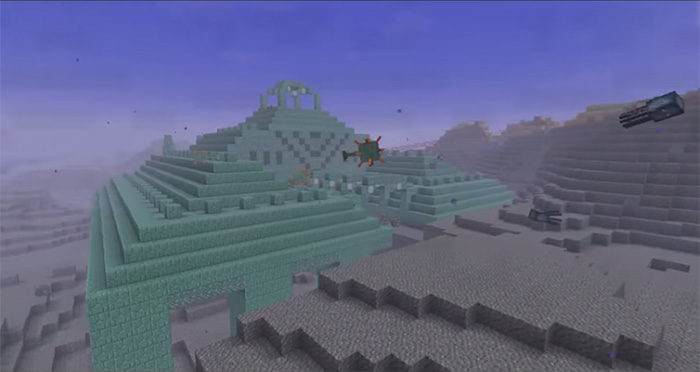 Minecraft Underwater Monuments 1.8