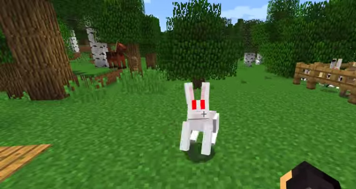 Minecraft 1.8 rabbits