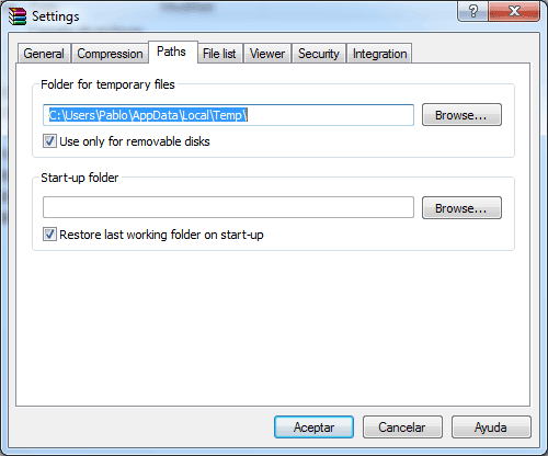 Winrar configuration guide