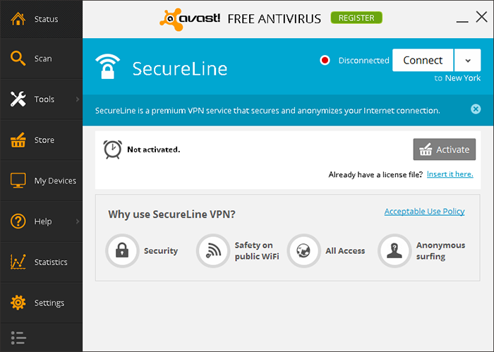 Avast antivirus tutorial