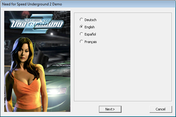 Need for speed installation