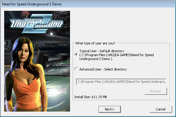 install Need for speed 2