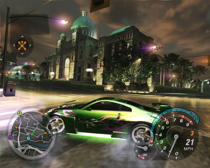 How to play need for speed underground 2
