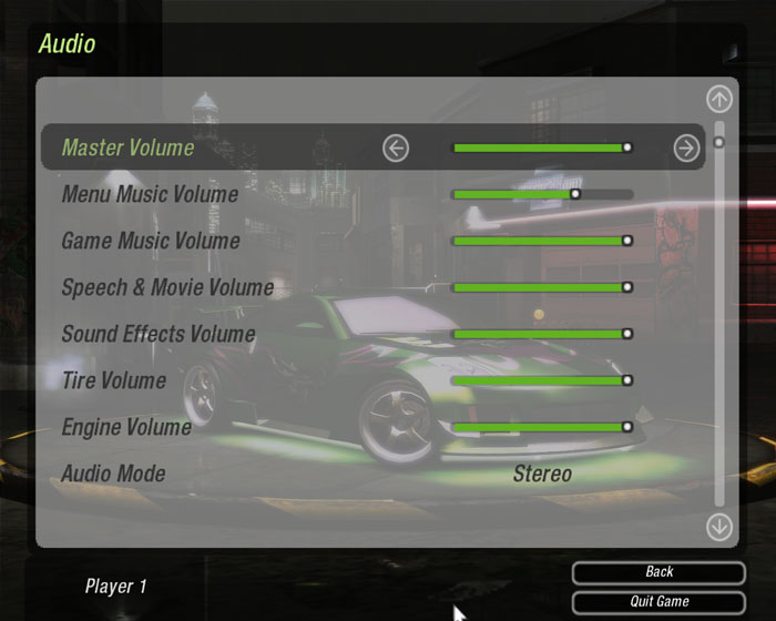 Need for speed guide