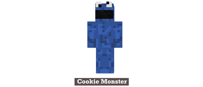 Cookie monster minecraft