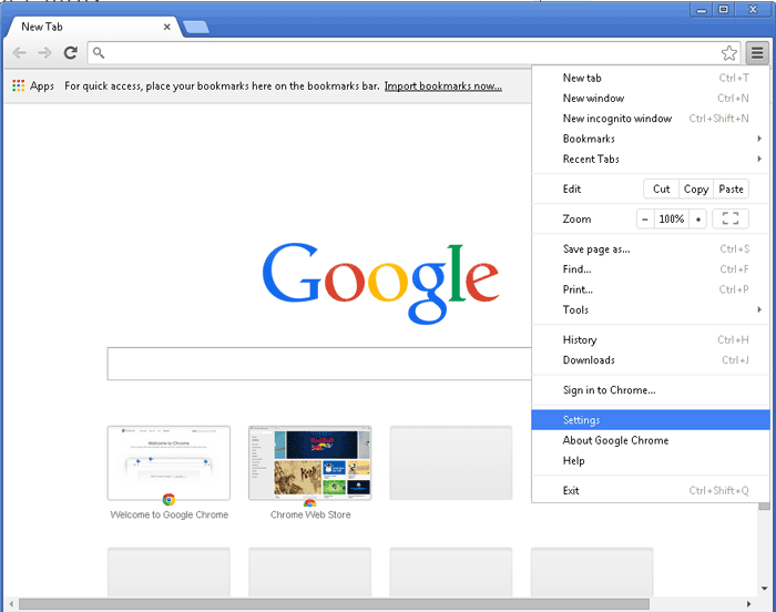 how to get rid of search suggestions on google chrome
