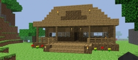 Minecraft Village House