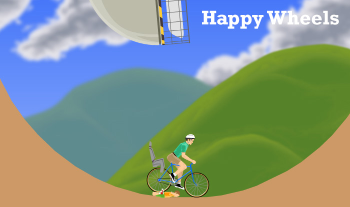 Most addicting video games - Happy Wheels