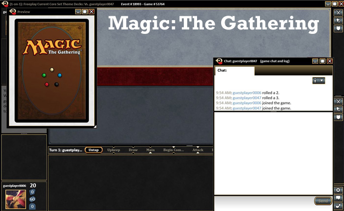 Most addictive games - Magic: the Gathering
