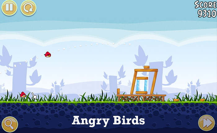 Addictive video games - Angry Birds