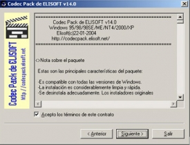 Codec Pack ELISOFT