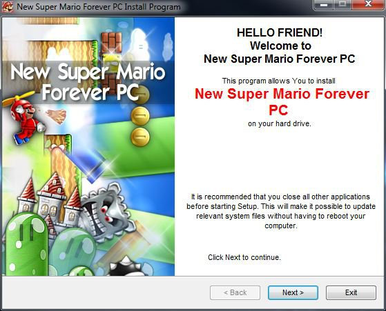 How to install super Mario 3