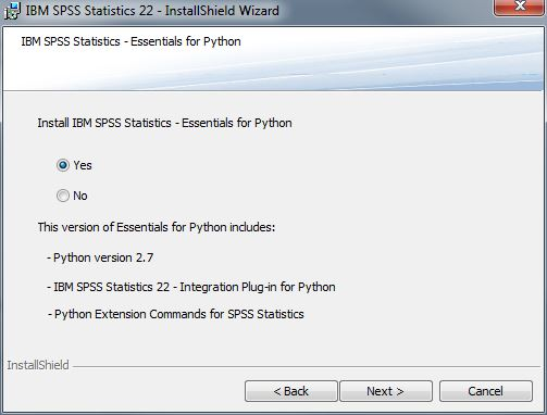 How to install SPSS