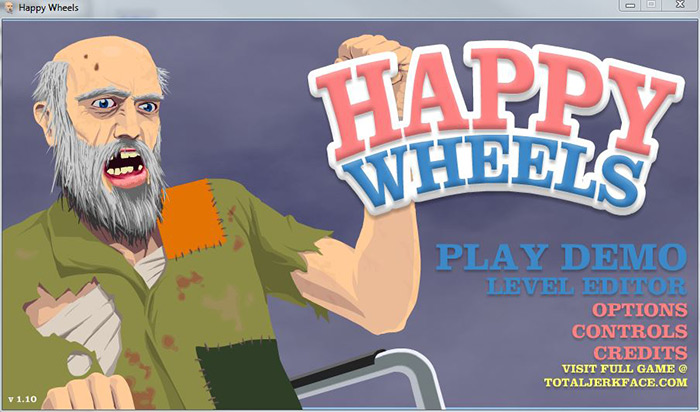 happy wheels how to play