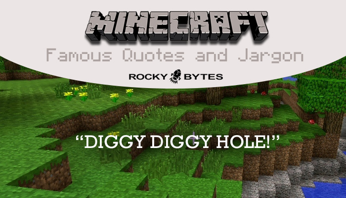 Minecraft popular and famous quotes