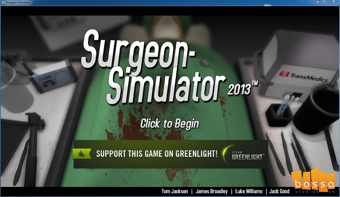 How to install Surgeon Simulator