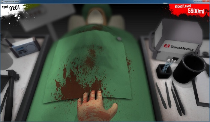 How to play Surgeon Simulator