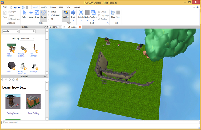Roblox studio: create roblox games