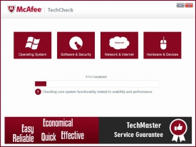 McAfee Tech Check