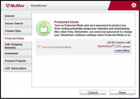 McAfee Site Advisor