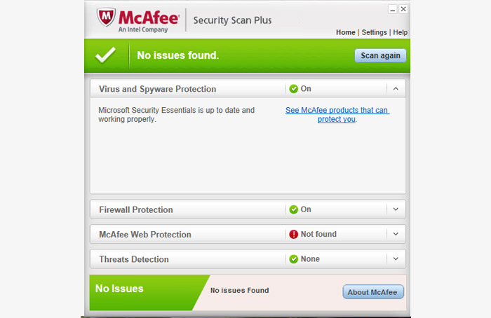 mcafee security plus