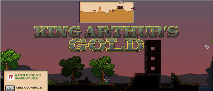 King arthur's gold game
