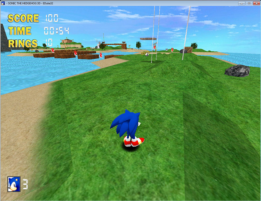 Sonic The Hedgehog 3d Free Download Rocky Bytes