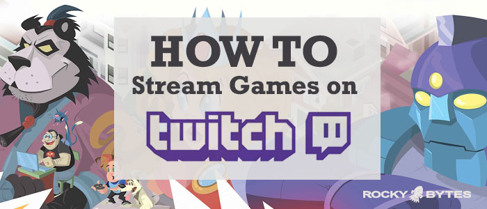 Stream games with twitch tv