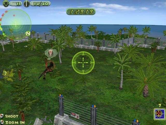 Jurassic Park Operation Genesis Game