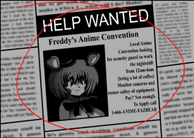 Five Nights in Anime