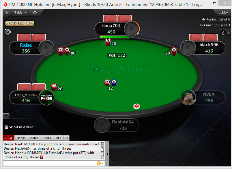 Free pokerstars download
