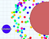 New options in Agar.io: Experimental Mode and Party (with friends) Mode!