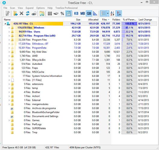 WatFile.com Download Free Treesize Free - Free Download | Rocky Bytes