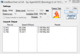 Intel Burn Test