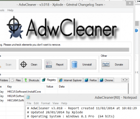 ADW Cleaner 3.018