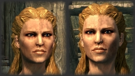 The Elder Scrolls V: Skyrim No More Blocky Faces Mod