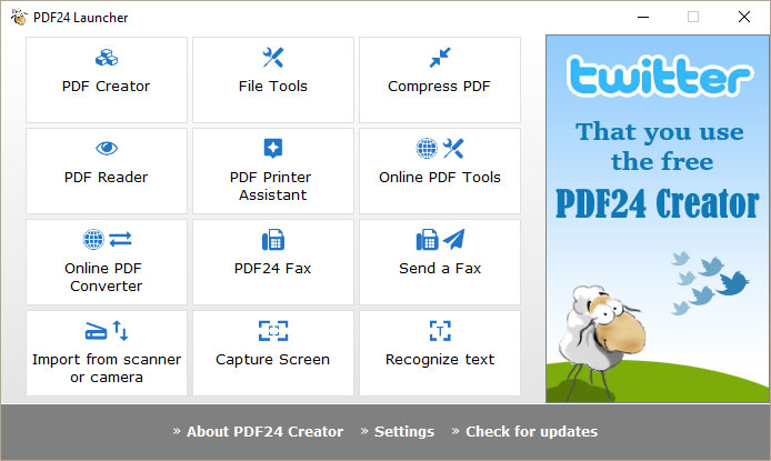PDF24 Creator - Free Download | Rocky Bytes