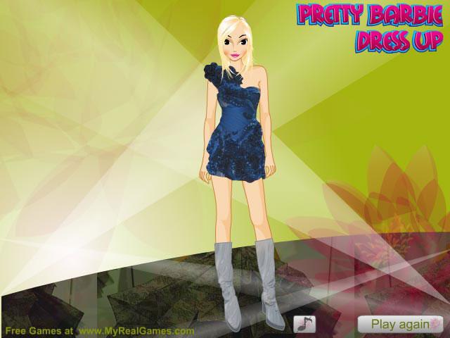 Pretty Barbie Dress-up